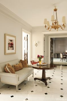 Fifth Avenue Apartment - Thomas O'Brien Design - Veranda