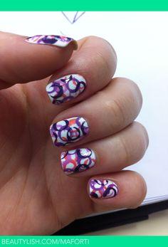 Fingernails.
