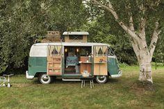 one day, buses, van, campers, camper living, hippie, dreams, camping, road trips