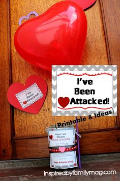 You've Been Heart Attacked! The kids have had so much fun with this and so have I! Do you celebrate V-day?