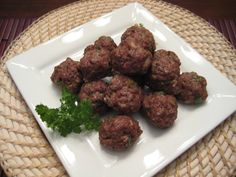 LOW CARB RECIPE IMAGES | Italian Meatballs | Buttoni's Low Carb Recipes