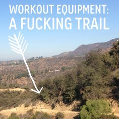 The #gym is okay BUT SO IS THE GREAT FUCKING #OUTDOORS.