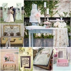 """Shabby Chic Wedding  """"I have always known it was you"""""""