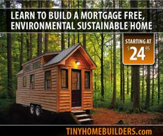How to Build a Tiny House Design and Construction Guide...I WILL own land and a cabin someday...