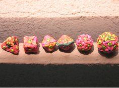 3dprint flower, flower dice