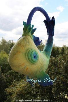 """art bag """"crazy fish"""" by Anastasiya Avilova"""
