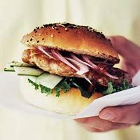 Tandoori Chicken Burgers Recipe