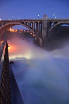 Spokane Falls - Spokane WA
