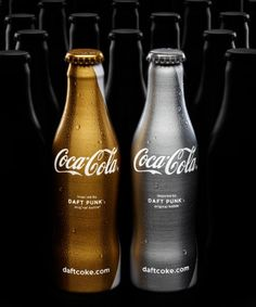 Packaging, Daft Punk & Coca Cola, anything else?? :)