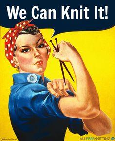 Knitters, unite!