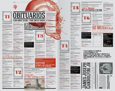 The Angry Mob by Luciano Fasan, via Behance #publication #editorial #layout
