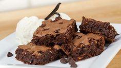 Zucchini Brownies Recipe   Blendtec brownie recipes, vitamix, sweet, browni recip, blender recip, food, blenders, blendtec recipe, dessert