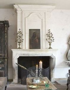 interior design, rose, fireplac, mantel, hous, bedrooms, blog, mantl, hearth