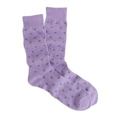 Summer maybe over but that just means it is time for socks again! J.Crew - Medium-dot cotton socks