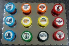 NBA cupcakes