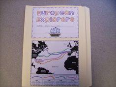 Ms. Winston's Blog: Explorer's Lapbook