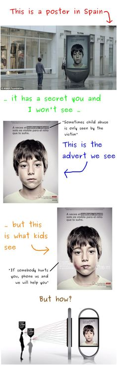 idea, humanity restored, awesom ad, smart design, children, perspective, ad design, posters, people