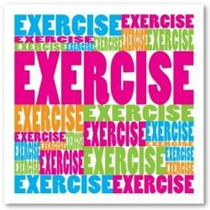 exercise!!