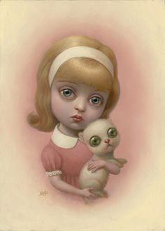 Pencils and Fireflies: Hail to The King and Queen: Amazing Art by Mark Ryden and Marion Peck