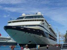 Cruise  Ship, BridgeTown Barbados