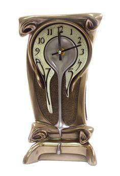 Art Nouveau Melting Clock