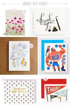 Stationery A Z Thank You Cards
