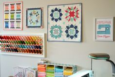 Hyacinth Quilt Designs: A Glimpse into my Sewing Space