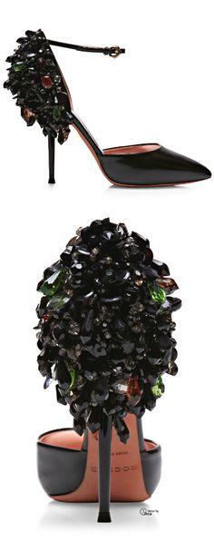 Rochas FW 2014 ● Crystal Embellished Heels