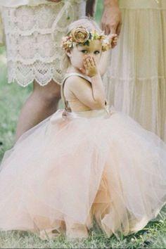 Baby Flower girl hair http://instagram.com/sparklysodastyle