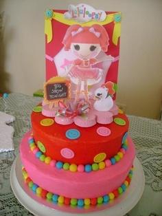 Lalaloopsy cake girl parti, galleries, birthday parti, balls, cake idea, cakes, 8th birthday, lalaloopsi birthday, kabri birthday