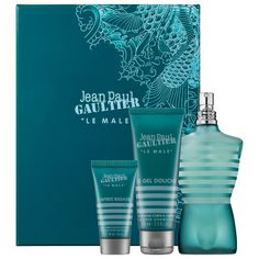 Father's Day Gift Ideas: Jean Paul Gaultier LE MALE Gift Set #Sephora #FathersDay #FathersDayGifts #ForDad #cologne