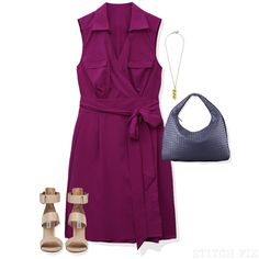 Summer Interview Wrap Dress