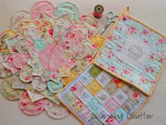 Charming Chatter pot holders and trivets
