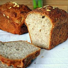 Sprouted Wheat Strawberry Bread loaf. Vegan.