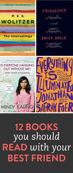 12 books to read with your best friend