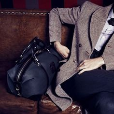 jacket and bag...