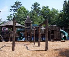 Outdoor Activities - Hickory Dickory Park - Charming multi age appropriate park with a variety of play equipment, open space for sports, picnic tables and restrooms.