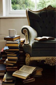 ❥ stately, yet manly chair