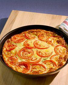 Zucchini Tomato Frittata - Martha Stewart Recipes