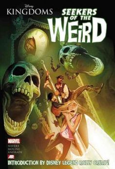 Disney Kingdoms: Seekers of the Weird by Brandon Seifert - Maxwell and Melody Keep follow their swashbuckling Uncle Ronald into the macabra Museum of the Weird and see their lives altered forever during a quest to save themselves, their parents, and the world.