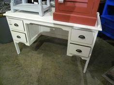 """Collegiate Writing Desk  A045 - $267  52""""W x 18""""D x 32""""H  #NadeauNashville"""
