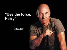 Use the force Harry-Gandalf