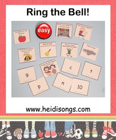 Ring the Bell Game from HeidiSongs!