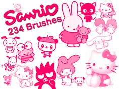Sanrio Brush Collection by *EmmaL27 on deviantART