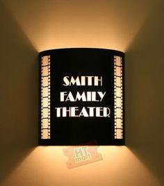Theater Room on Pinterest