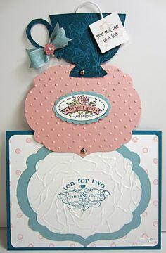 Telescope tea card