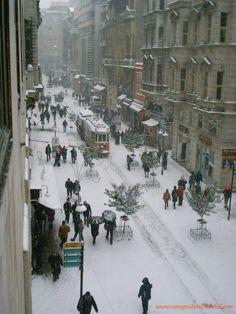 wintertime in istanbul