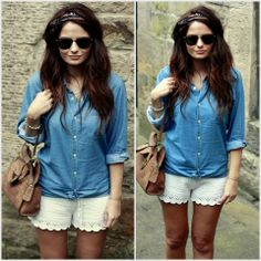 like the outfit..nice casual but cute!