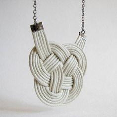 lovely knot necklace