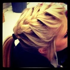 french braid <3